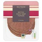Waitrose Roast Beef Topside