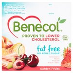 Benecol Cholesterol Lowering Fat Free Yogurt Garden Fruits