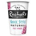 Rachel's Organic Fat Free Greek Style Natural Yogurt