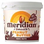 Meridian Natural Peanut Butter Smooth No Salt