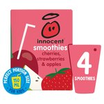 Innocent Kids Cherry & Strawberry Smoothies