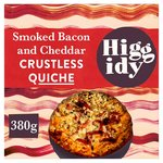 "Higgidy 6"" Smoked Bacon & Mature Cheddar Crustless Quiche"