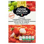 Cook Italian Chopped Tomatoes Olive Oil & Garlic