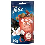 Felix Goody Bag Cat Treats Mixed Grill