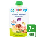 HiPP Organic Savoury Pouch Scrummy Spaghetti Bolognese