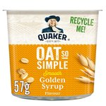 Quaker Oat So Simple Golden Syrup Porridge Pot