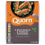 Quorn Premium Sausages Wild Garlic