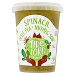 Tideford Organic Spinach & Split Pea Soup with Nutmeg