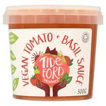 Tideford Organic Vegan Tomato & Basil Sauce