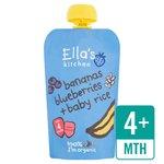 Ella's Kitchen Blueberries, Bananas & Baby Rice Stage 1