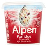 Alpen Porridge Pots Raspberry & Apple