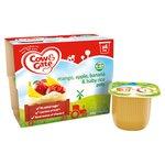 Cow & Gate Mangoes, Bananas, Apples & Baby Rice Fruit Pots