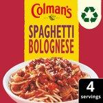 Colman's Spaghetti Bolognese Recipe Mix