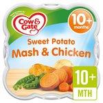 Cow & Gate 10 Mths+ Steam Sweet Potato Mash with Chicken