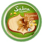 Sabra Authentic Houmous Extra with Pine Nuts