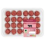 Waitrose 24 Aberdeen Angus Beef Meatballs