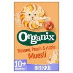 Organix Cereals Apple, Peach & Banana Muesli - Stage 3