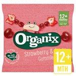 Organix Goodies Fruit Gummies Strawberry Stage 4