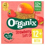 Organix Goodies Strawberry Cereal Bar Stage 4