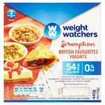 Weight Watchers British Favourites Yogurts