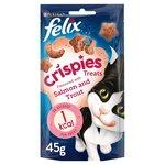 Felix Crispies Cat Treats Salmon & Trout