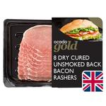 Ocado Exclusive 6 Unsmoked Back Bacon Rashers British Dry Cured