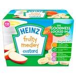 Heinz Fruity Custard Fruit Medley 4-36 Mths