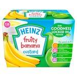 Heinz Fruity Custard Banana 4-36 Mths