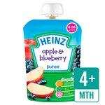 Heinz Smooth Apple & Blueberry 4-36 Mths