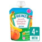 Heinz Smooth Peach, Mango & Banana 4-36 Mths