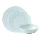 Gordon Ramsay Maze Stoneware 12pc Dinnerset, Blue