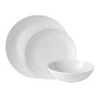 Gordon Ramsay Maze Stoneware 12pc Dinnerset White