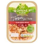 Green Farm Foods Torn Cajun Chicken Breast