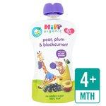 HiPP Organic Plum, Pear & Blackcurrant Pouch 4+ Mths