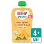 HiPP Organic Sweet Squash, Sweetcorn & Peas Pouch 4+ Mths